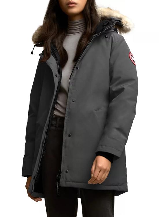 Victoria Fusion-Fit Coyote Fur Trim Parka